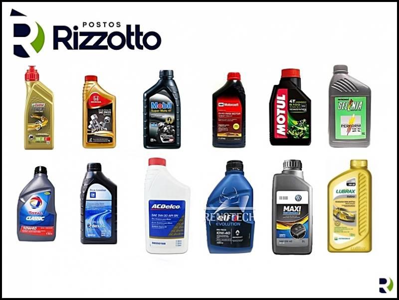 Postos Rizzotto tem a mais completa linha de lubrificantes e Filtros automotivos do mercado.